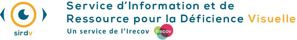 Logo Service d'Information et de Ressource pour la Déficience Visuelle