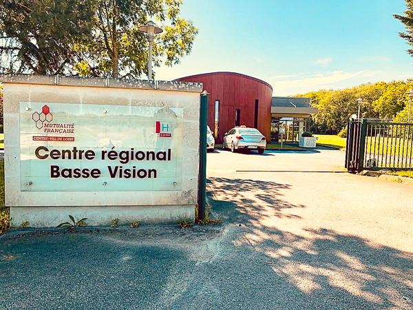 Visite au Centre Régional de Basse Vision