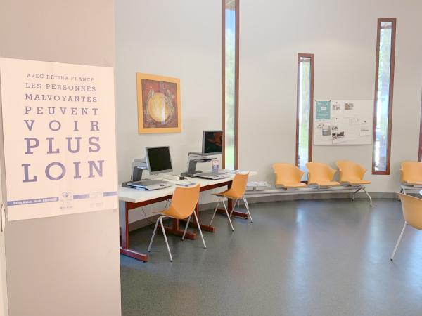 Hall d'accueil du CRBV