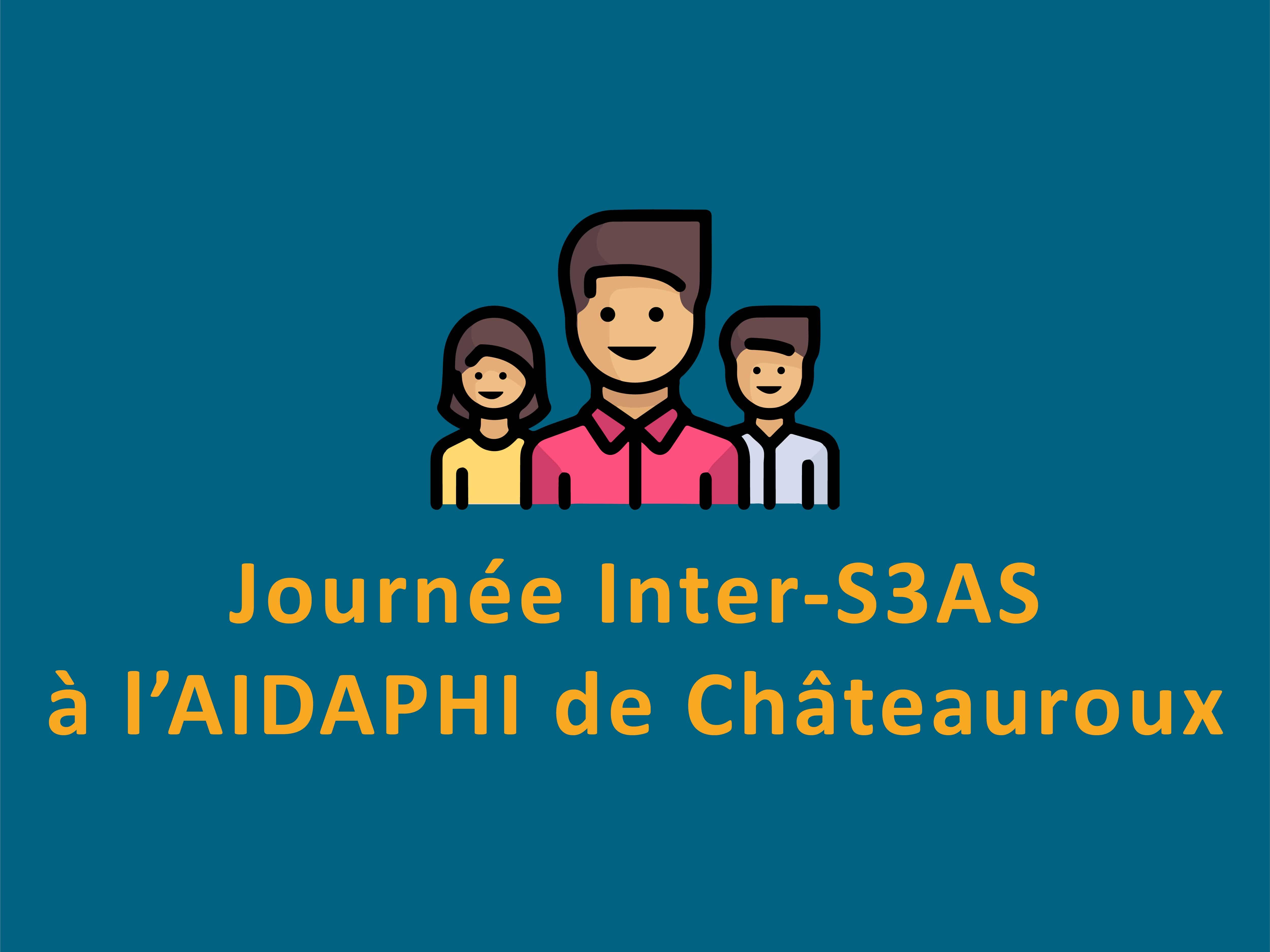 Journée Inter-S3AS à l'AIDAPHI de Châteauroux.