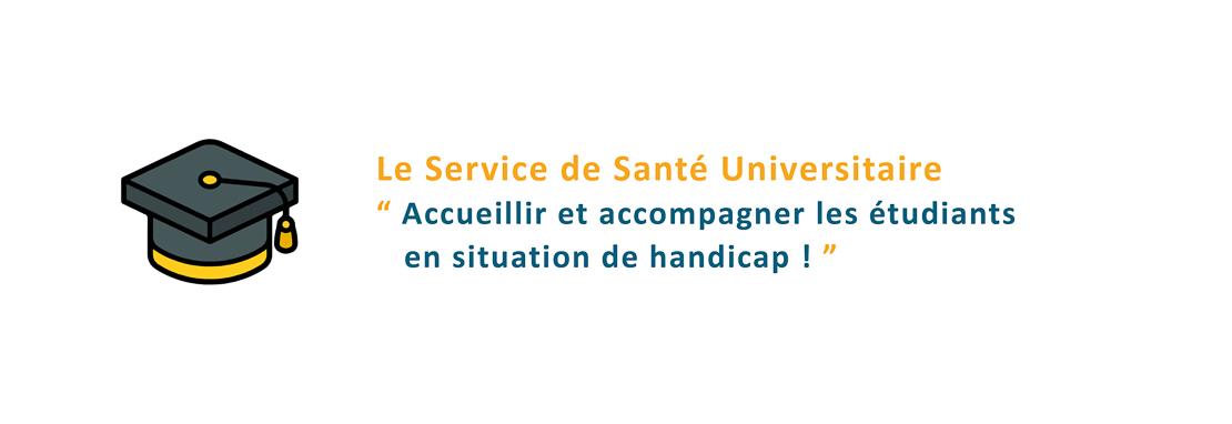 Le SSU accompagne les étudiants en situation de handicap !