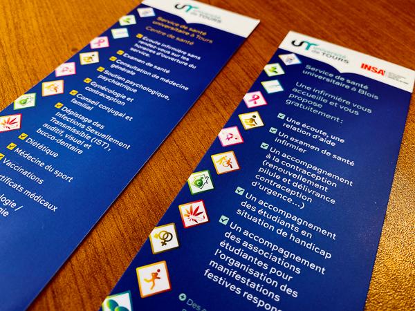 Le SSU met en place divers actions pour les étudiants.
