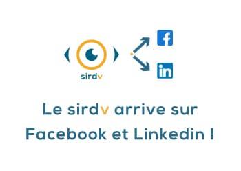 Le SIRDV sur les réseaux sociaux !