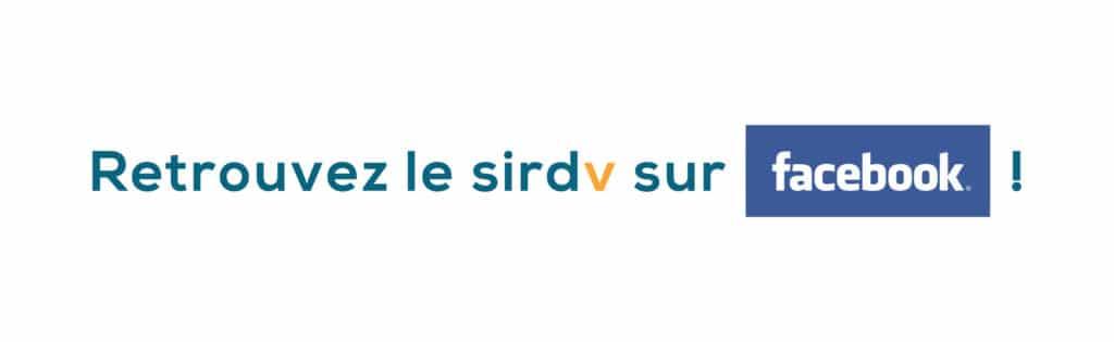 Retrouvez le sirdv sur Facebook !